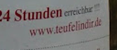 Der Teufel in Dir - The devil inside Streetmarketing Viral